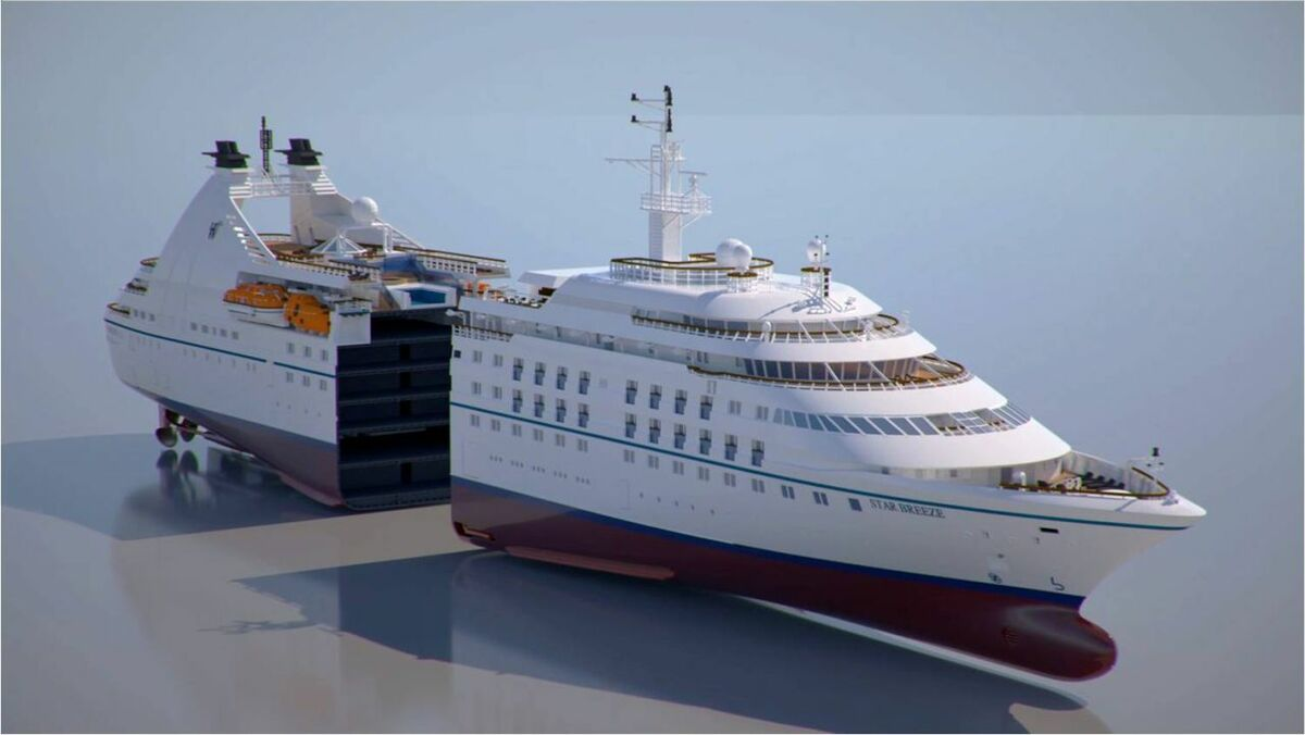 Windstar Cruises to carry out 'complex' cruise ship stretch