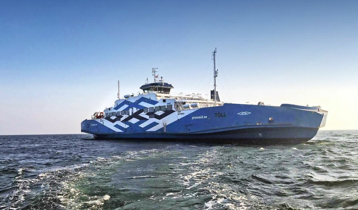 Diesel-electric propulsion for Estonia ferry conversion