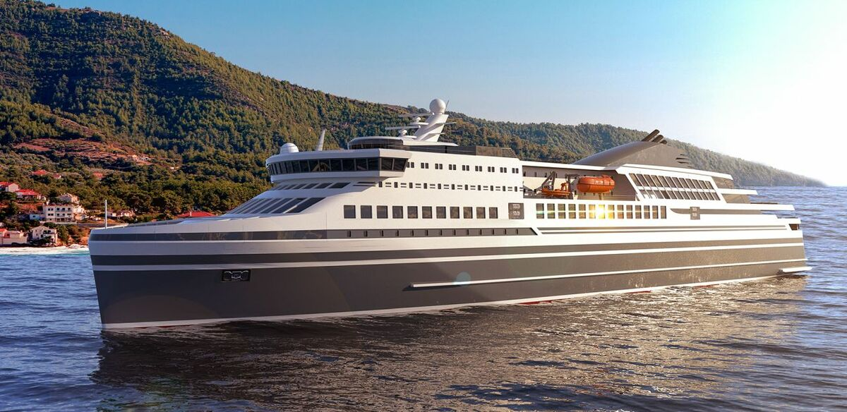 Knud E Hansen launches 'ground-breaking' ferry design for Mediterranean