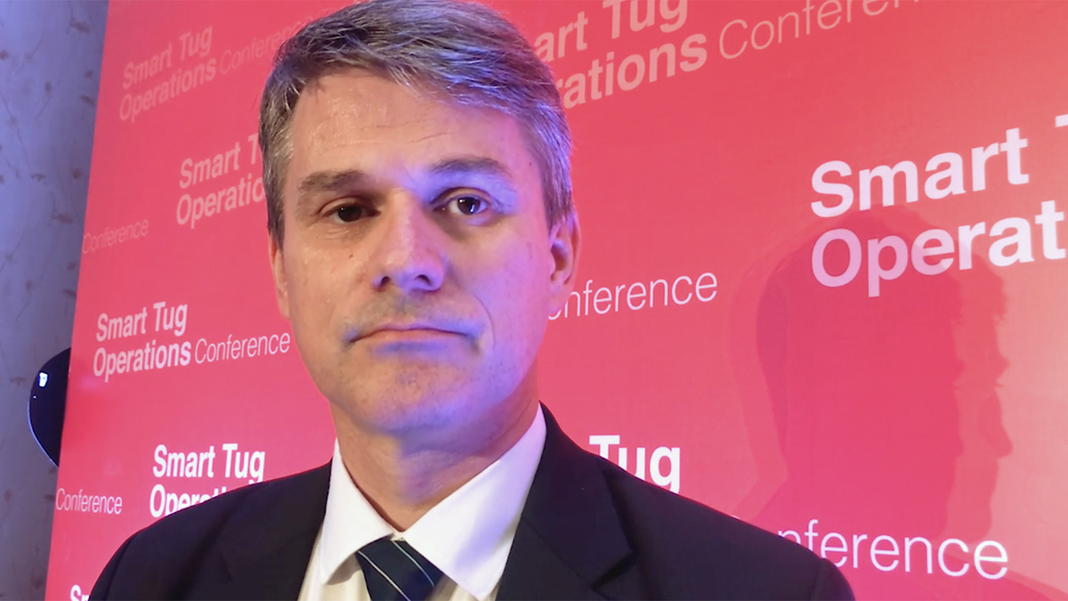 Arnstein Eknes (DNV GL): 'Tug owners are agile and can take a lead in developing smart technologies'