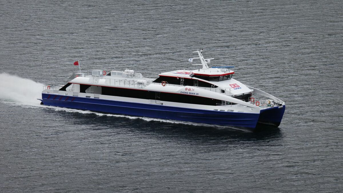 Brødrene Aa has delivered one of the fastest carbon fibre high-speed passenger vessels in the world