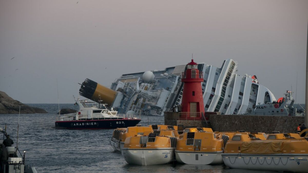 Incidents such as the Costa Concordia disaster require exhaustive investigations (credit: RVongher)