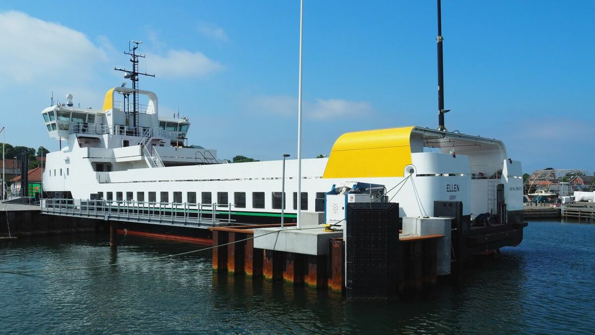 "Vibrations on fully electric Ellen e-ferry are ""significantly less than on a regular ferry"""