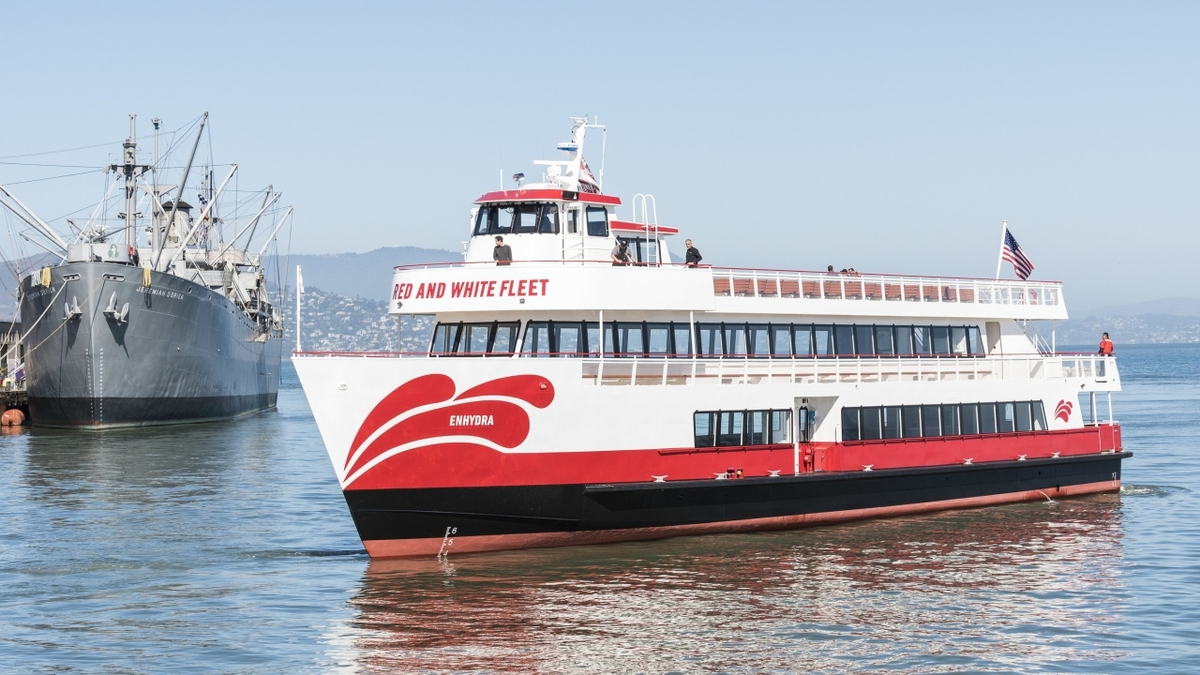 Case study: hybrid-electric ferry achieves 35% fuel savings over conventional