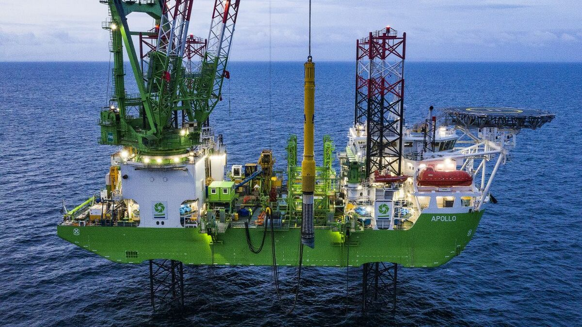 DEME reaches halfway point in Moray East piling