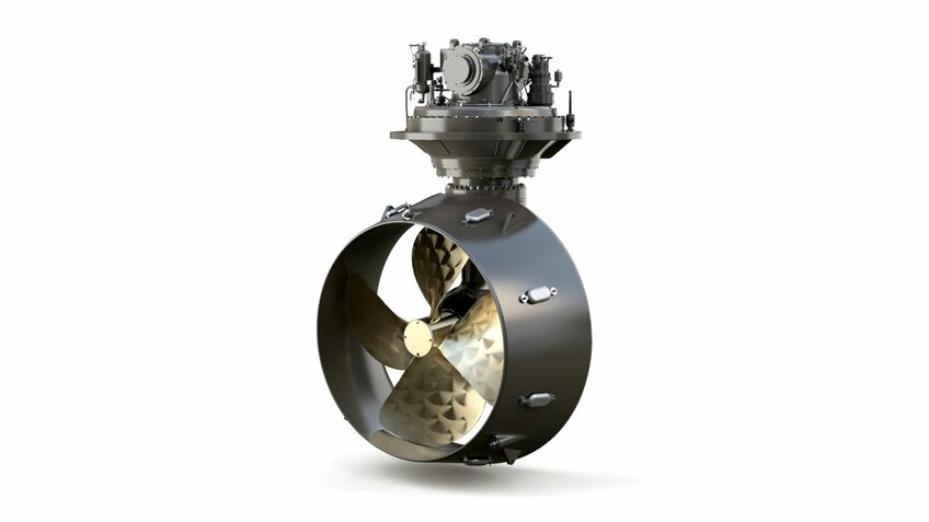 Cat's third generation MTA 524 azimuth thruster is 20% lighter than previous generations