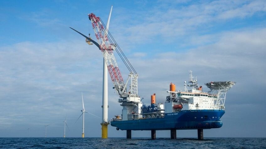 Jan De Nul will install the turbines on the Saint-Nazaire windfarm, beginning in 2022