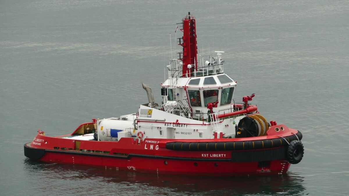 KST Liberty is the first dual-fuel smart tug to enter service in Singapore