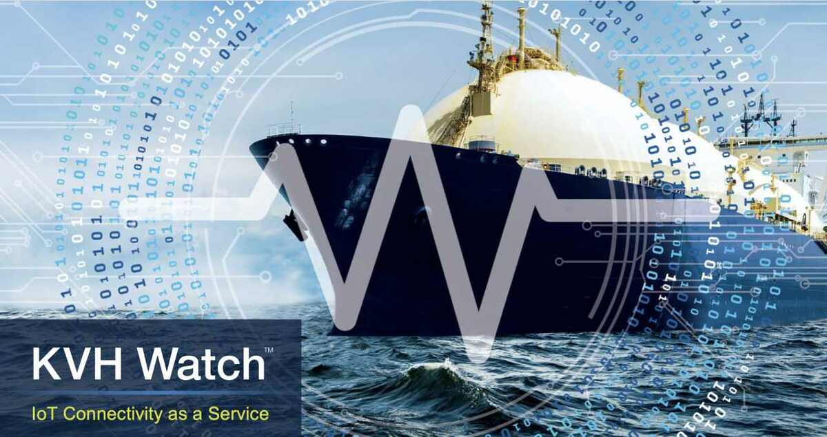 KVH Watch provides connectivity to Kongsberg's Vessel Insight