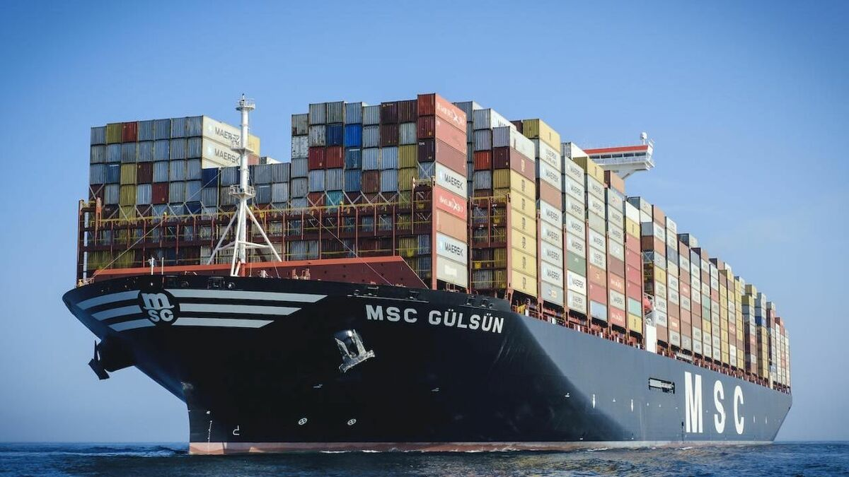 MacGregor and MSC worked together at an early stage on MSC Gülsün's cargo system