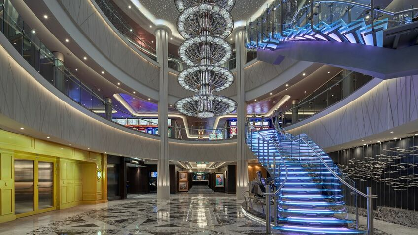 The intention of the Norwegian Joy refit was to make it like Norwegian Bliss and Norwegian Encore