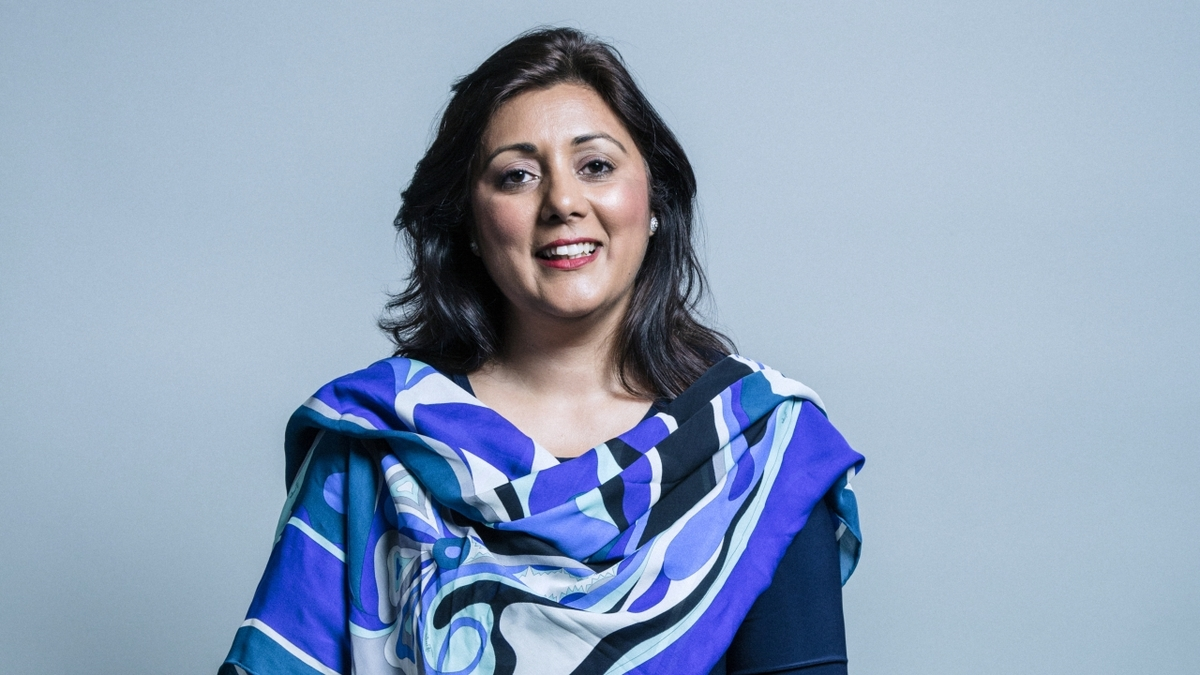 UK Maritime minister and parliamentary under-secretary of state Ms Nusrat Ghani MP