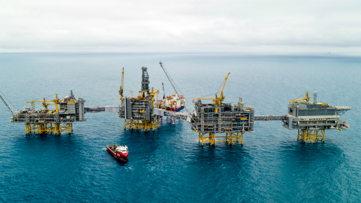 Subsea 7 installed subsea components and tie-in of pipelines at the Johan Sverdrup development