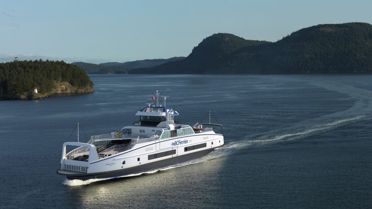 BC Ferries inks contract for four hybrid electric vessels