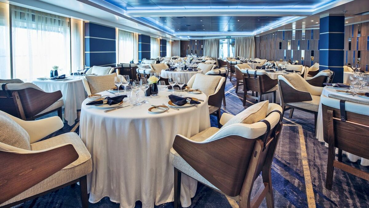 Prime 7 steakhouse has been added to Seven Seas Navigator, based Seven Seas Explorer's design