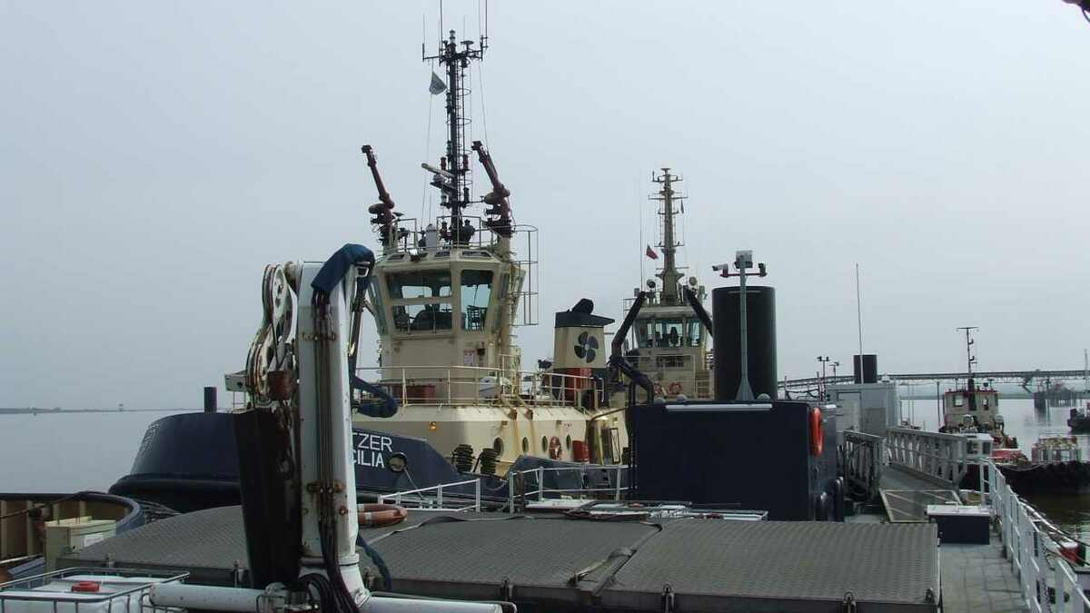 Svitzer tugs in Port of London, which may become a freeport in the future