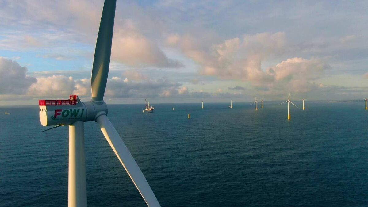Taiwan's first commercial-scale offshore windfarm generates power