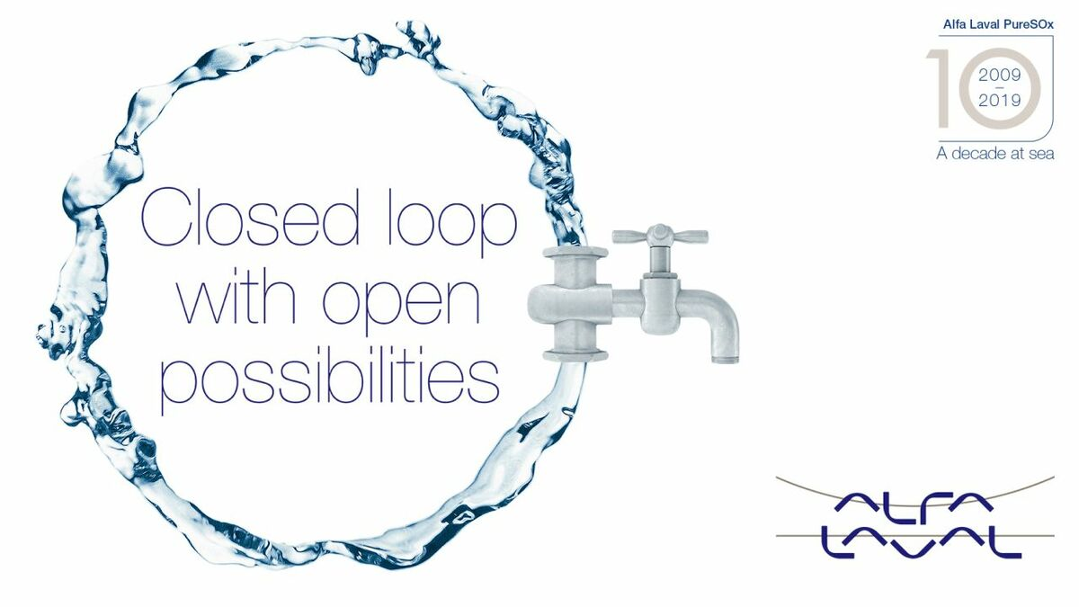 Future-proof and cost-saving flexibility for closed-loop scrubbing with PureSOx