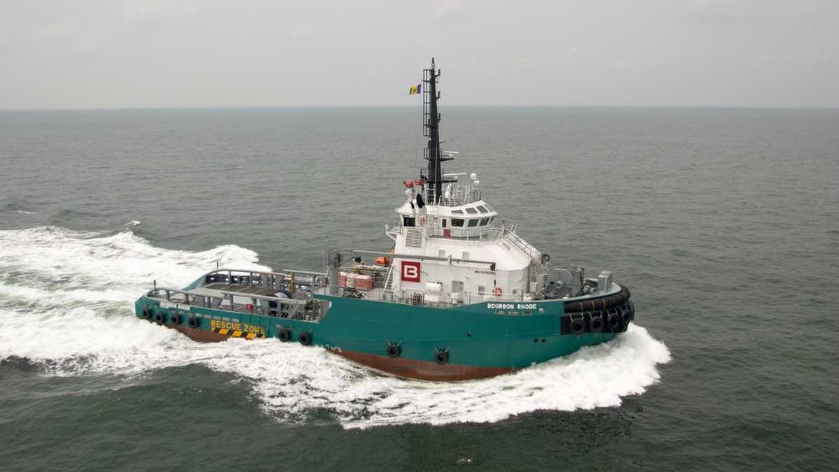 Bourbon Rhode was being deployed to the Caribbean after completing operations in Nigeria