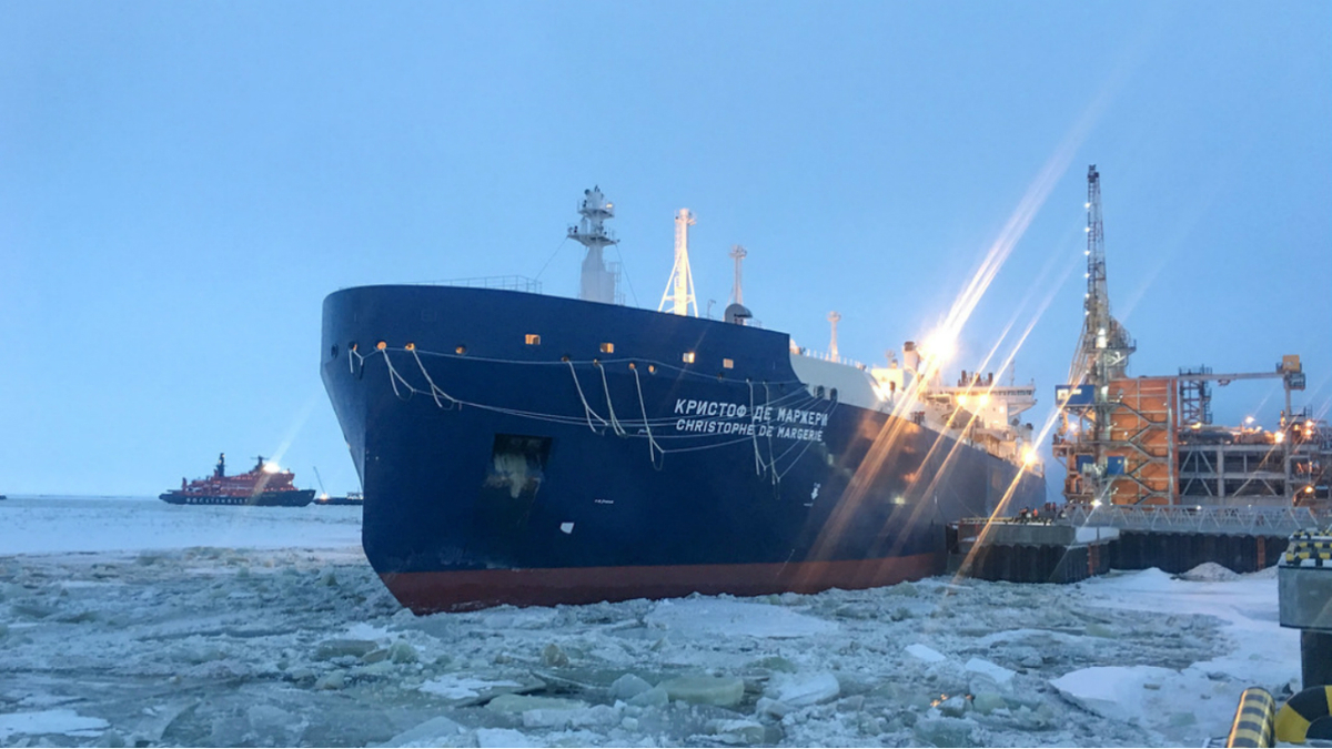 AiP for new membrane containment system for icebreaking LNGCs