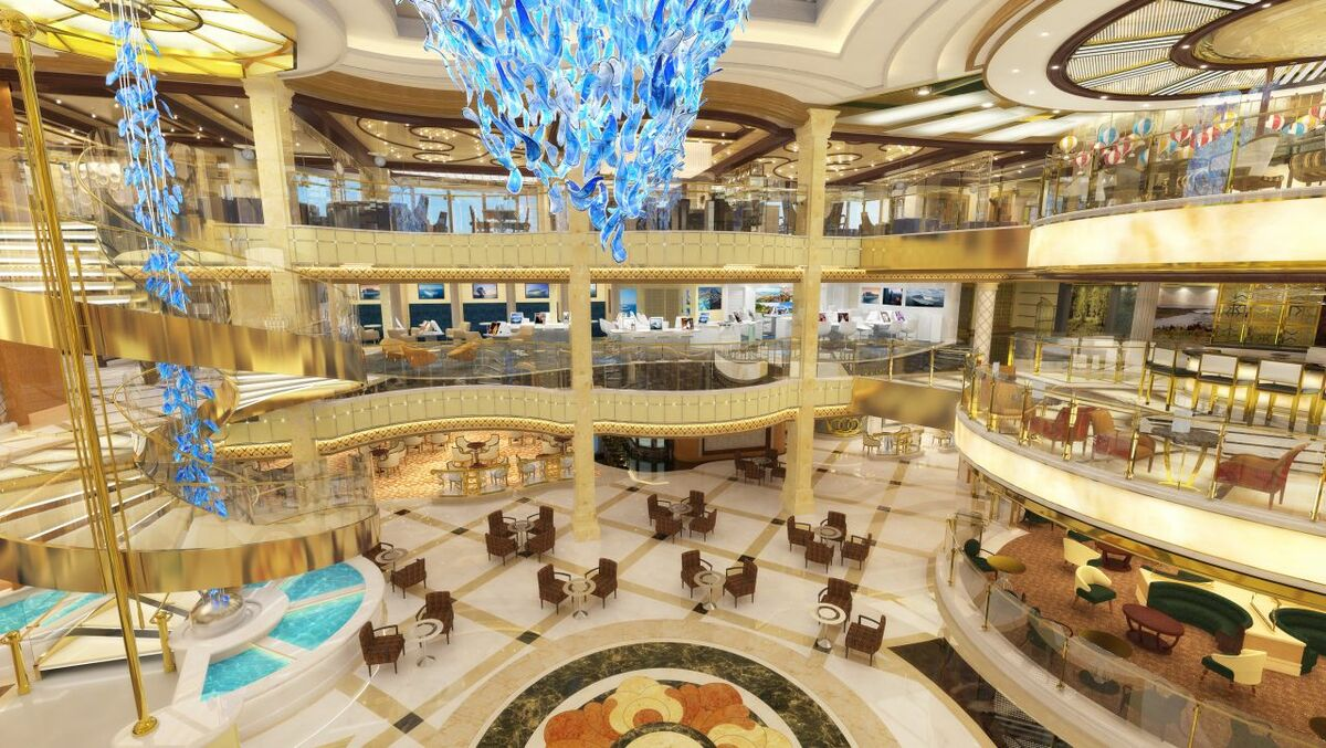 There are strong synergies between the newbuild and refurbishment sides (credit: Princess Cruises)