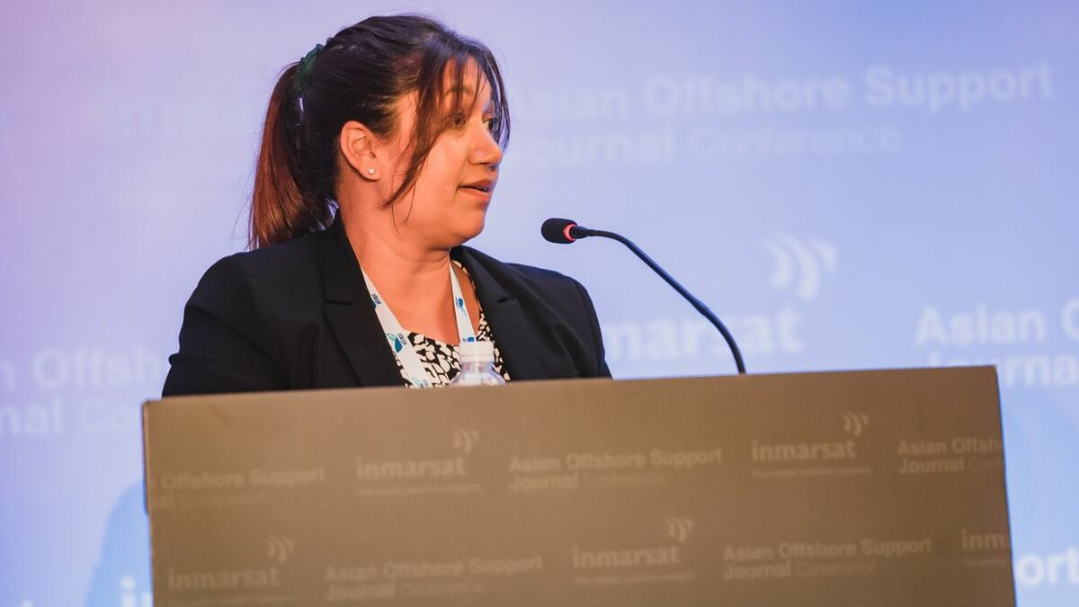 "Audra Drablos (Inmarsat) ""Bourbon won a contract with a fuel-incentive bonus"""