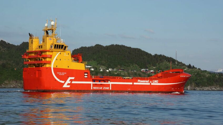 Eidesvik PSV Viking Queen is dual-fuel and battery-powered