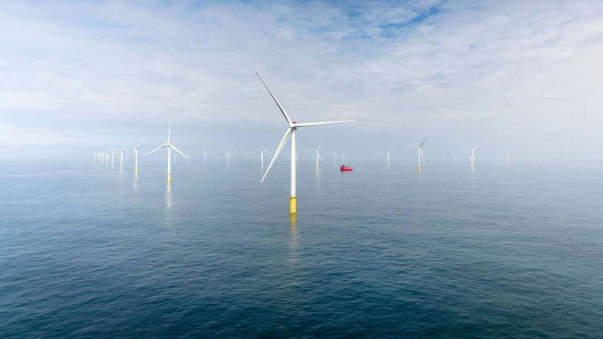 The UK still has the most offshore wind capacity overall, but China installed more offshore wind in 2020
