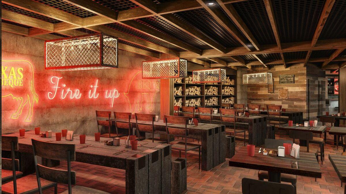 Studio DADO designed Norwegian Encore's Q restaurant