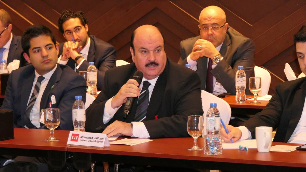Mohammed Zaitoun (Zaitoun Green Shipping): There is a call for change that must be addressed