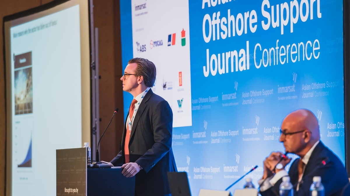 Erik Stromso (Pareto Securities): 'Things are looking better for the offshore support industry'