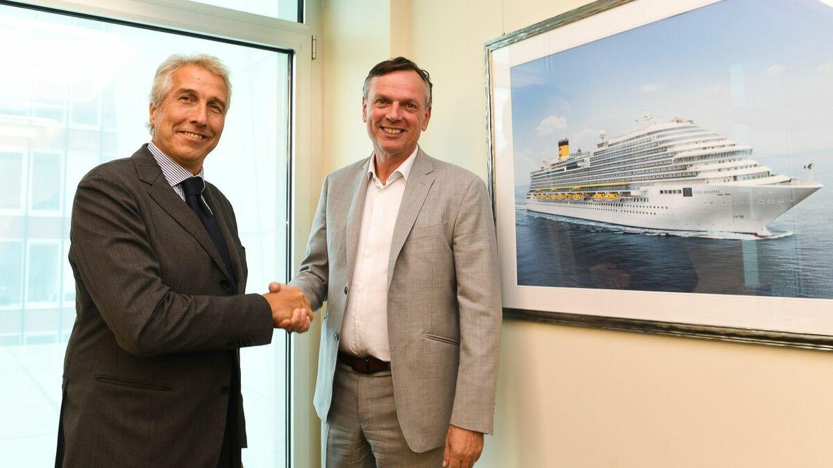 San Giorgio del Porto and Costa Cruises have signed a contract to restyle Costa neoRiviera