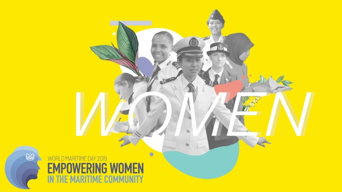 On World Maritime Day, IMO and ICS remind shipping it needs more women