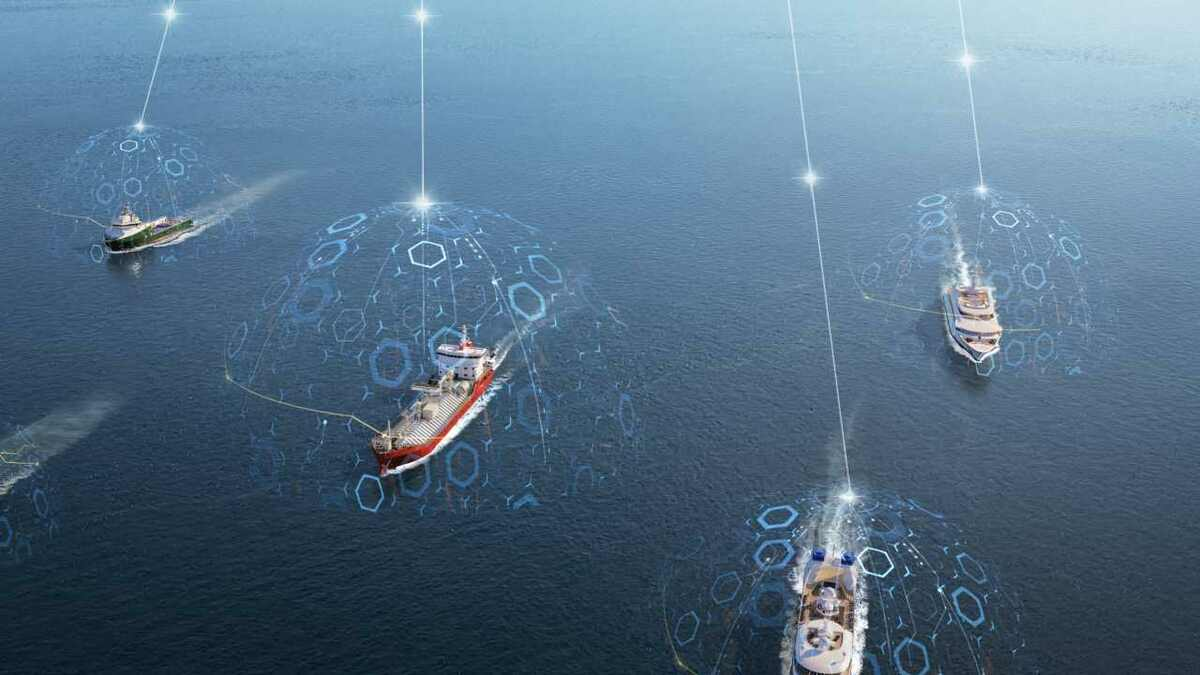 Inmarsat Fleet Data provides IoT connectivity to all types of vessels