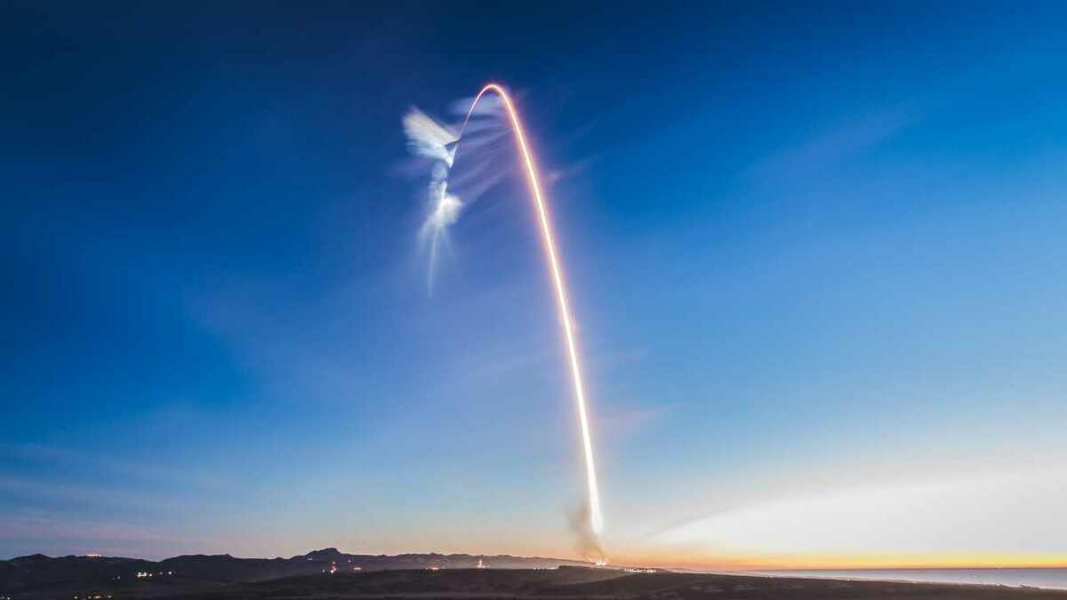 Iridium built its Next constellation of LEO satellites through rounds of rocket launches during 2018