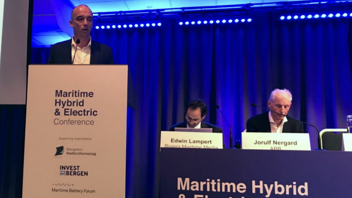 """Morten Sundt (Equinor): """"How can we use this data to optimise our logistics?"""""""