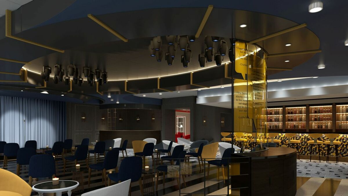 Versatility of night time entertainment has influenced the design of NCL interiors (credit: NCL)