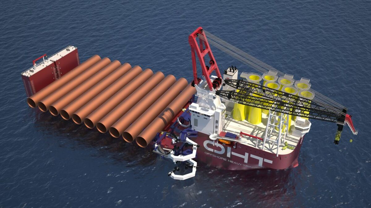 Alfa Lift can submerge to install turbine foundations