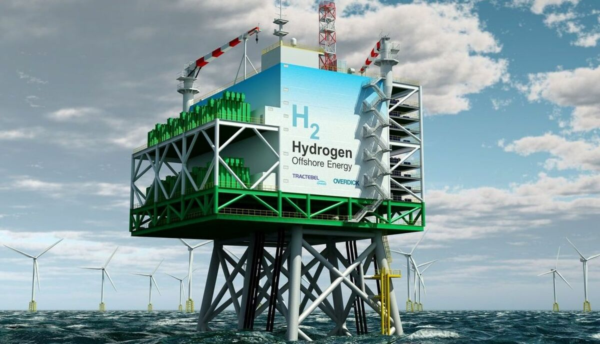 Tractebel's offshore platform would use wind energy to make green hydrogen