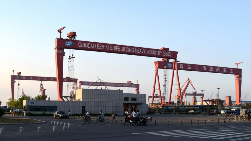 Qingdao Beihai shipyard: Chinese shipyards dominate the Eco retrofit market