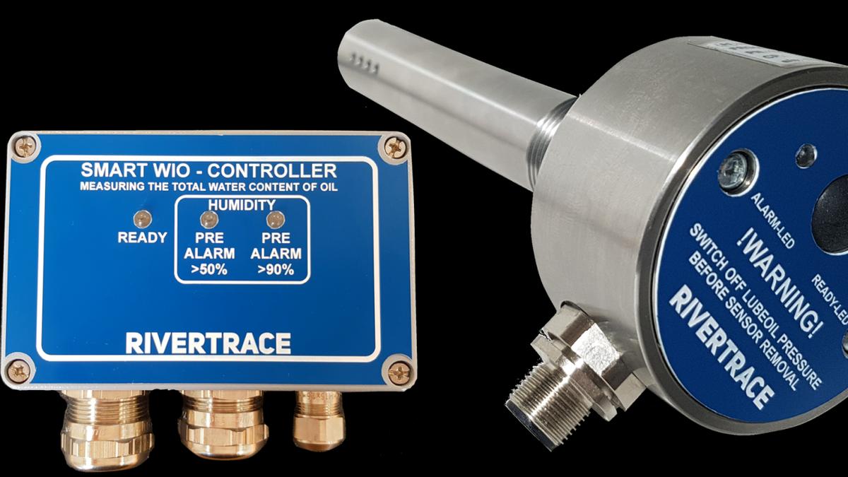 Rivertrace smart oil in water sensor