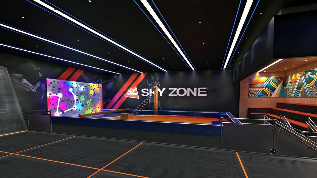 Carnival Panorama: introducing the first indoor trampoline park and challenge zone at sea
