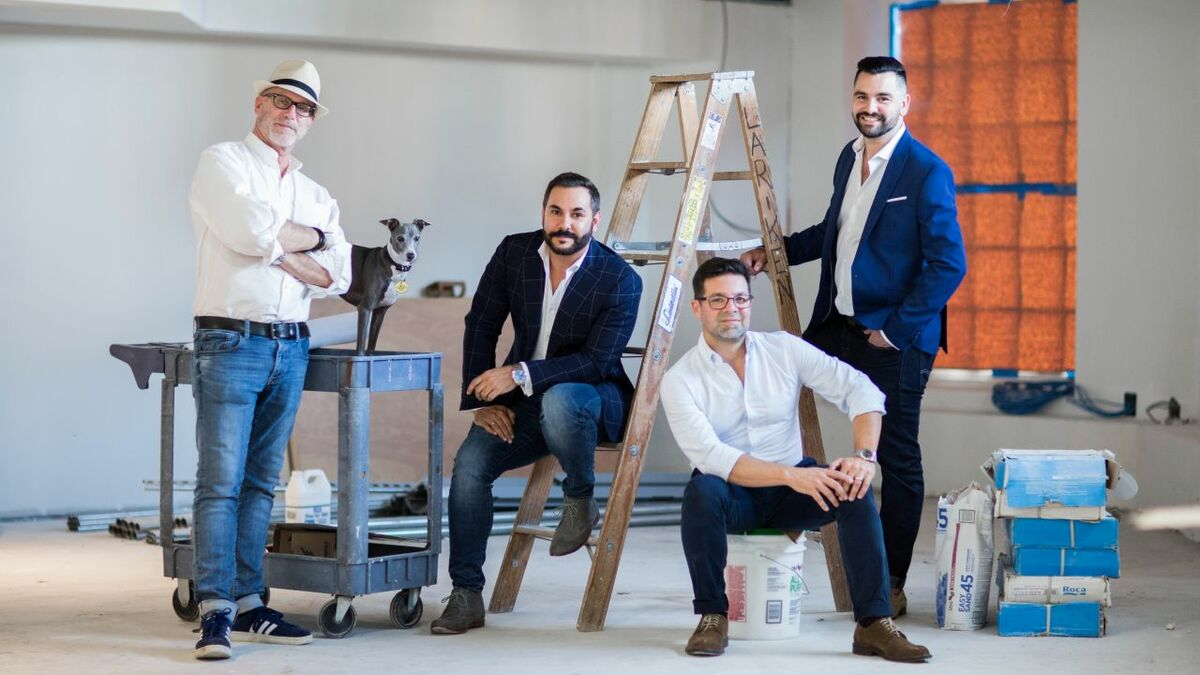 """Studio DADO'S four founding partners: '""""Let's roll the dice and set up our own firm"""""""