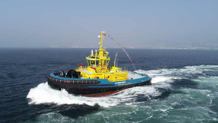 Construction starts on Turkish tugboat fleet