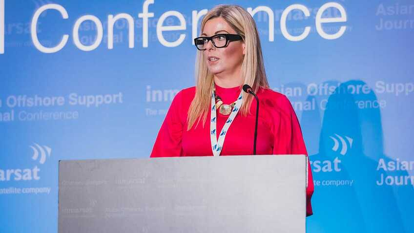 Inger Louise Molver (Solstad Offshore): Offshore wind will boost walk-to-work