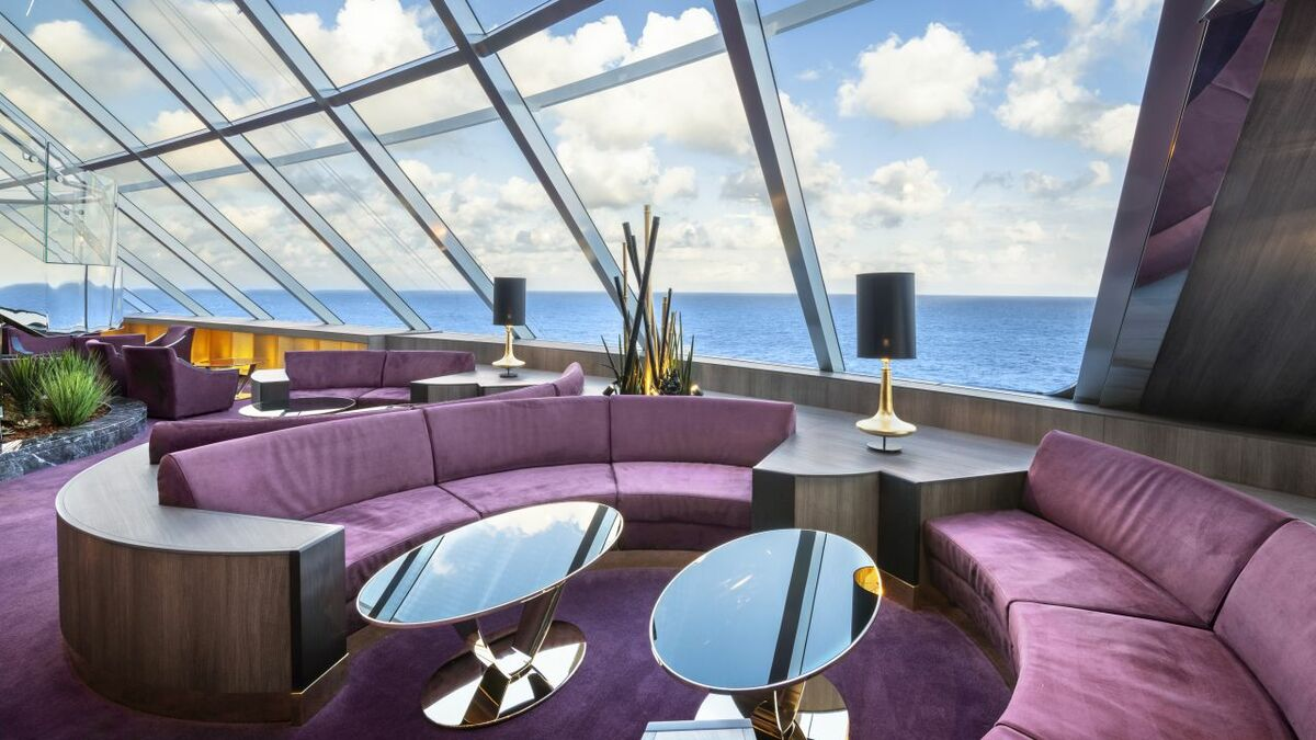 MSC Yacht Club offers suites in an exclusive area of the ship
