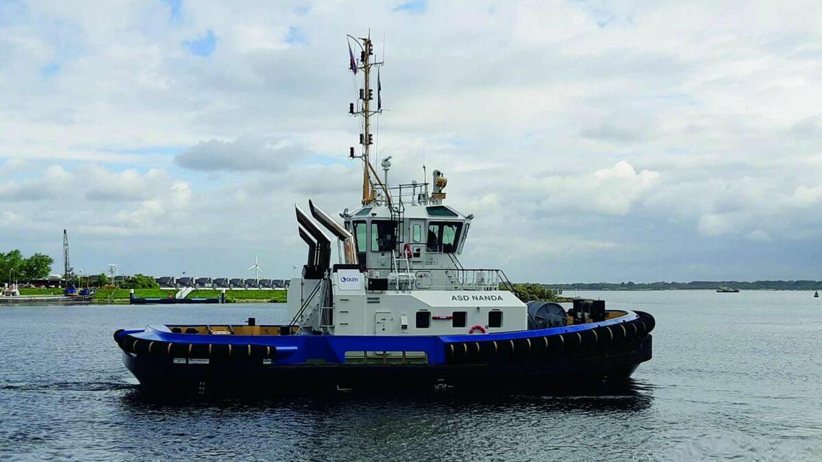 ASD 2411 tug Nanda supports ship berthing in Esmeraldas and La Libertad ports, Ecuador