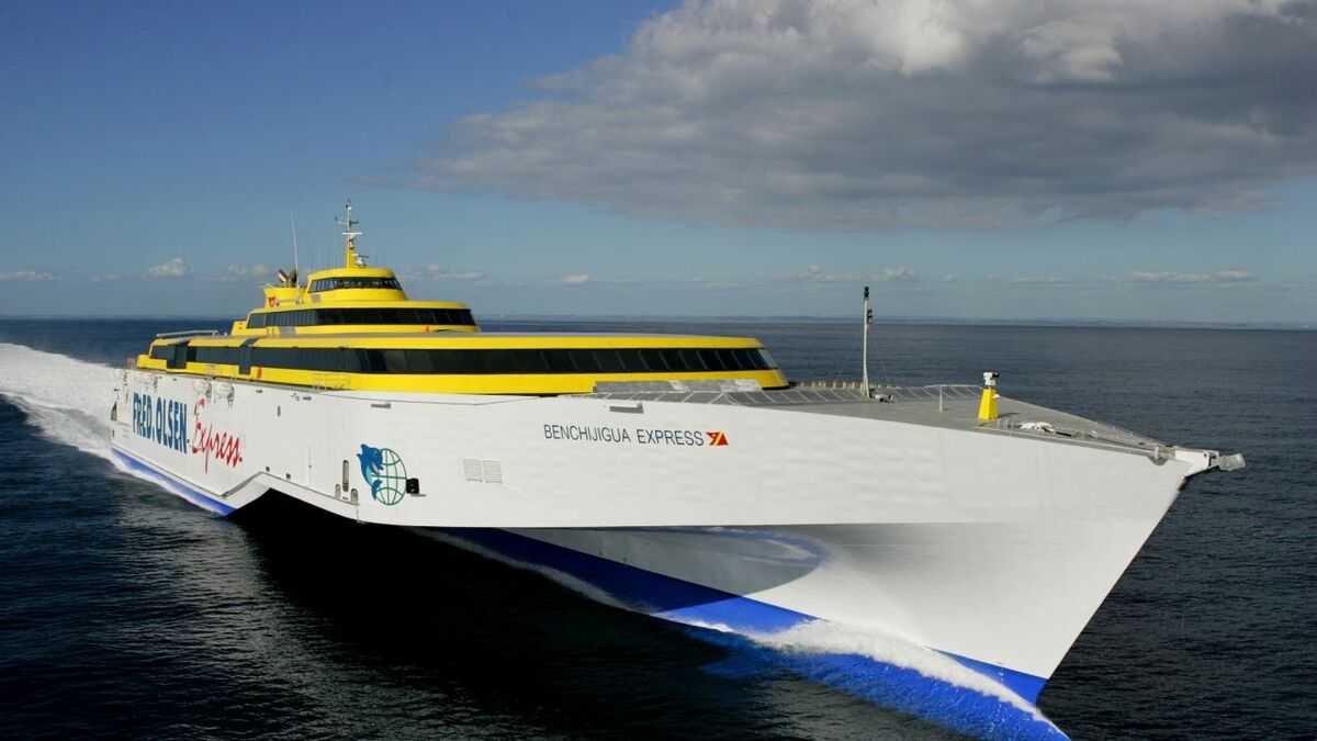 Austal worked with operators including Fred Olsen to develop MARINELINK (credit: Austal)