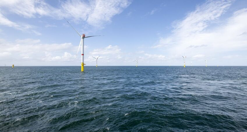 Borkum II is the third German offshore windfarm Deutsche Windtechnik will work on