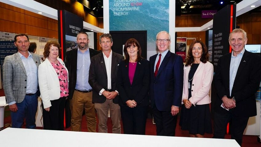 Celtic Sea Partners at the launch of their floating wind alliance